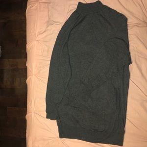 Soft Gray Sweater Dress w/front pocket 💕